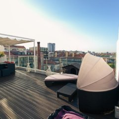 Отель Charming Penthouse with Private Terrace Лиссабон балкон