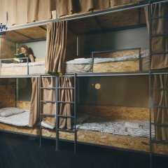 Хостел Bliss Кровать в общем номере с двухъярусной кроватью фото 7