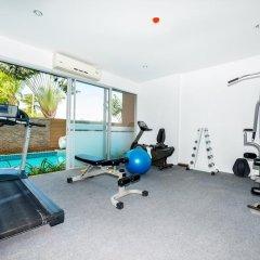 Апартаменты Karon Chic Studio фитнесс-зал