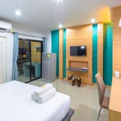 Отель Phoomjai House 3* Улучшенный номер с различными типами кроватей фото 11