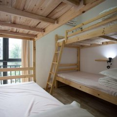 Freeguys Hostel Кровать в общем номере с двухъярусной кроватью фото 3