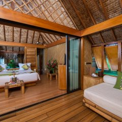 Отель Bora Bora Pearl Beach Resort and Spa Французская Полинезия, Бора-Бора - отзывы, цены и фото номеров - забронировать отель Bora Bora Pearl Beach Resort and Spa онлайн комната для гостей фото 5