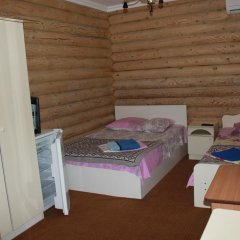 Гостиница Эко Дом комната для гостей фото 10