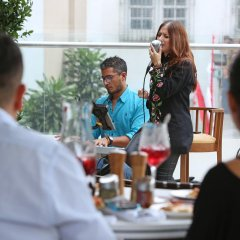 Отель Cali Marriott Hotel Колумбия, Кали - отзывы, цены и фото номеров - забронировать отель Cali Marriott Hotel онлайн гостиничный бар