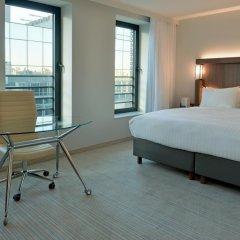 Отель Courtyard by Marriott Brussels EU 4* Стандартный номер с различными типами кроватей фото 5