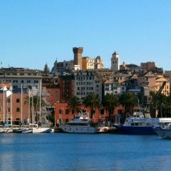 Отель Le Fontane Marose Генуя приотельная территория фото 2