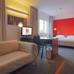 Отель Gartenhotel Altmannsdorf Low Budget Designhotel комната для гостей фото 4