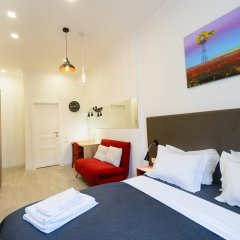 Гостиница Partner Guest House Khreschatyk 3* Студия с различными типами кроватей фото 13