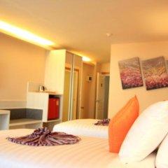 Отель Prom Ratchada Residence Таиланд, Бангкок - отзывы, цены и фото номеров - забронировать отель Prom Ratchada Residence онлайн комната для гостей фото 4
