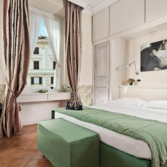 Отель Caesar House Residenze Romane 3* Стандартный номер с двуспальной кроватью фото 5