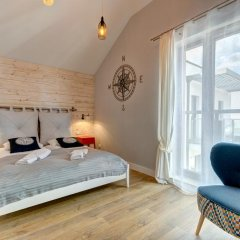 Апартаменты Dom & House - Apartments Waterlane Студия с различными типами кроватей фото 2