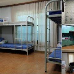 Отель Backpackers Inside Стандартный семейный номер с двуспальной кроватью