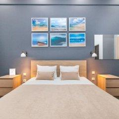Мини-Отель Брусника Полежаевская Стандартный номер с различными типами кроватей фото 10