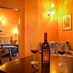 Отель Villa Di Nottola 4* Люкс с различными типами кроватей фото 6
