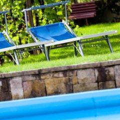 Отель Pension Rebgut Лана бассейн фото 3