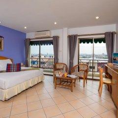 Отель Seven Oak Inn 2* Улучшенный номер с различными типами кроватей фото 3