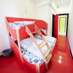 Chillout Hostel Zagreb Кровать в общем номере с двухъярусной кроватью фото 45
