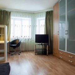 Гостиница Pushkino beautifull sub suburb of Moscow комната для гостей фото 2