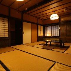 Отель Ryokan Fukumotoya Минамиогуни сауна