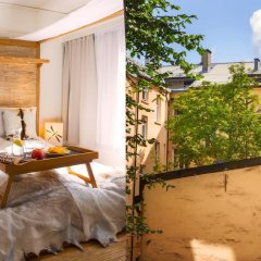 Отель Oslo Guldsmeden 3* Улучшенный номер с двуспальной кроватью фото 3
