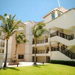 Отель Grand Park Royal Luxury Resort Cancun Caribe вид на фасад