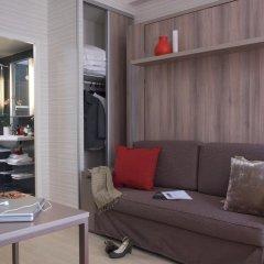 Отель Aparthotel Adagio Paris Opéra 4* Студия с различными типами кроватей фото 5