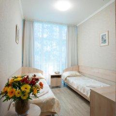 Гостиница Солнечная Стандартный номер с 2 отдельными кроватями фото 3