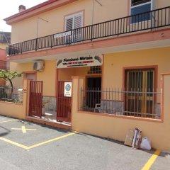 Отель Pensione Affittacamere Miriam Скалея парковка