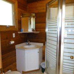 Отель Mica Mountain Lodge & Log Cabins ванная