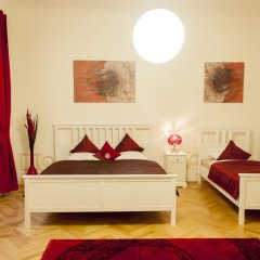 Отель Cherry Charm Apartment Чехия, Прага - отзывы, цены и фото номеров - забронировать отель Cherry Charm Apartment онлайн комната для гостей фото 4