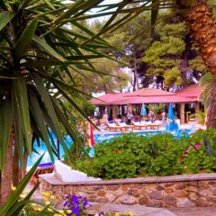 Porfi Beach Hotel гостиничный бар