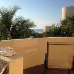 Отель Balamku Inn on the Beach балкон