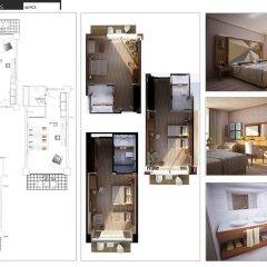 Отель Nirvana Lagoon Villas Suites & Spa 5* Улучшенный номер с различными типами кроватей фото 4