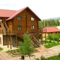 Гостиница Медведь Волосянка вид на фасад фото 2