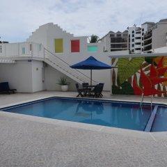 Отель Apartamentos Commodore Bay Club Колумбия, Сан-Андрес - отзывы, цены и фото номеров - забронировать отель Apartamentos Commodore Bay Club онлайн бассейн
