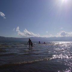 Отель Lake Shkodra Resort пляж фото 2