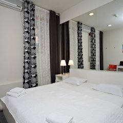Гостиница Петровка 17 Номер Эконом с разными типами кроватей (общая ванная комната) фото 7