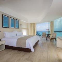 Отель Reflect Krystal Grand Cancun Улучшенный номер с различными типами кроватей фото 16