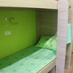 Хостел Позитив Кровать в общем номере с двухъярусной кроватью фото 3