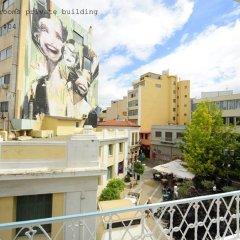 Апартаменты Live in Athens, short stay apartments Студия с различными типами кроватей фото 6