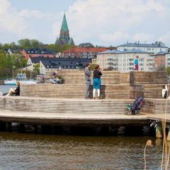 Отель ApartDirect Hammarby Sjöstad пляж фото 2