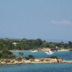 Отель Haus Platanos пляж