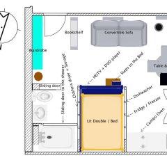 Отель Charm and comfort in the Quartier Latin Франция, Париж - отзывы, цены и фото номеров - забронировать отель Charm and comfort in the Quartier Latin онлайн ванная фото 2