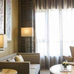 Отель Pullman Taiyuan 4* Улучшенный номер с различными типами кроватей фото 3