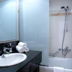 Отель Sunshine Rhodes 4* Стандартный семейный номер с различными типами кроватей фото 12