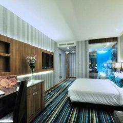 Отель The Continent Bangkok by Compass Hospitality 4* Представительский номер с различными типами кроватей фото 17