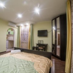 Гостиница Теремок Заволжский Апартаменты разные типы кроватей фото 9