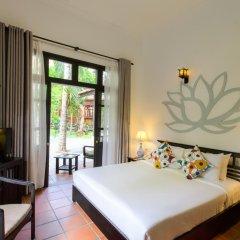 Отель Hoi An Trails Resort 4* Улучшенный номер с различными типами кроватей фото 3