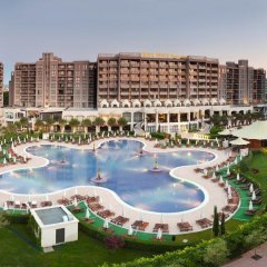 Отель Royal Beach Apartment Болгария, Солнечный берег - отзывы, цены и фото номеров - забронировать отель Royal Beach Apartment онлайн бассейн фото 2