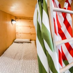 Хостел Архитектор Кровать в общем номере с двухъярусной кроватью фото 30
